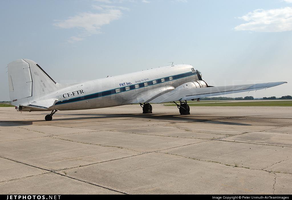 CF-FTR - Douglas DC-3 - First Nations Transportation (FNT)