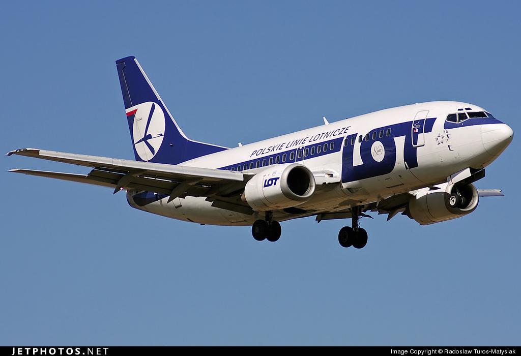 SP-LKA - Boeing 737-55D - LOT Polish Airlines