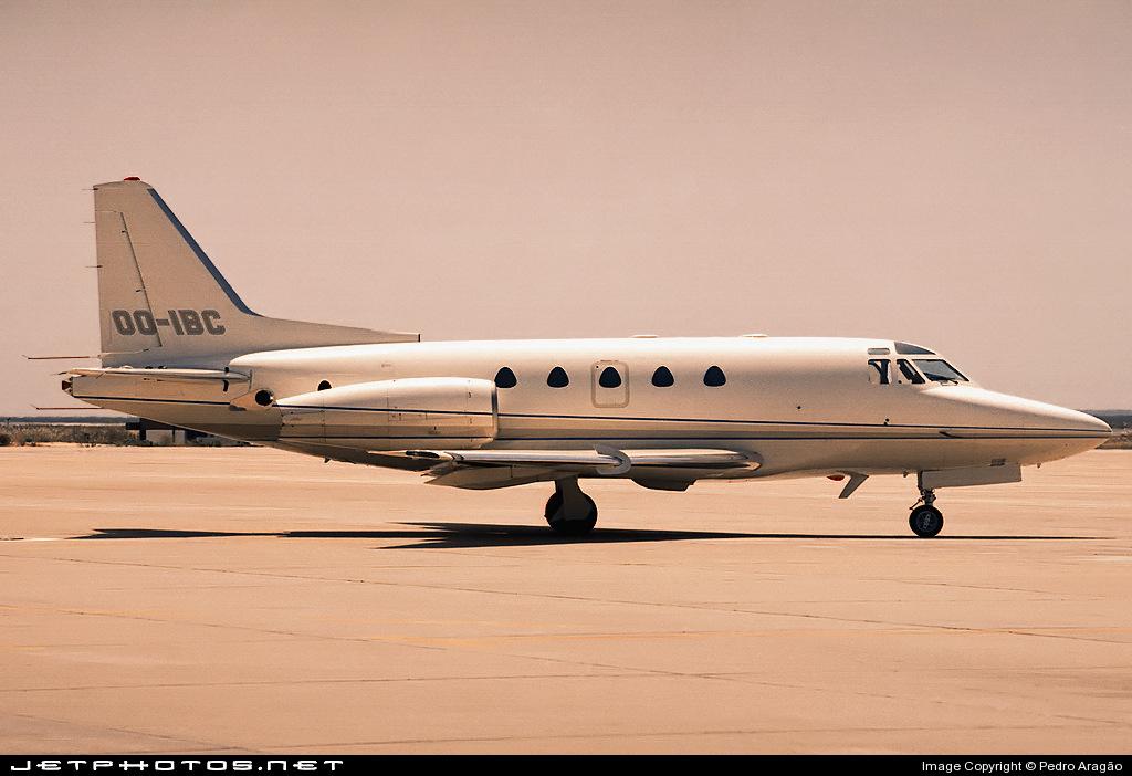 OO-IBC - Rockwell Sabreliner 65 - Ibis