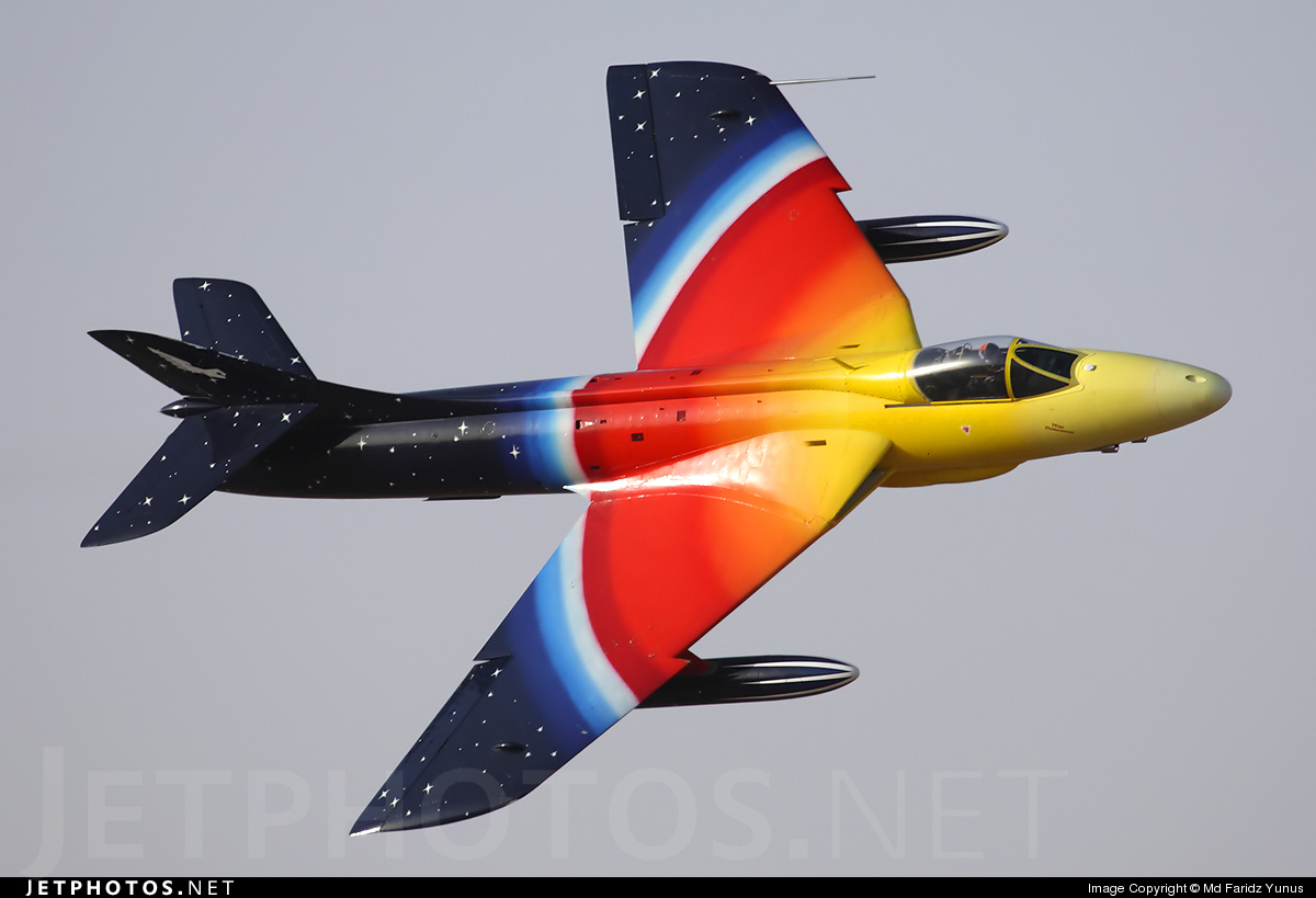 G-PSST - Hawker Hunter Mk.58A - Private