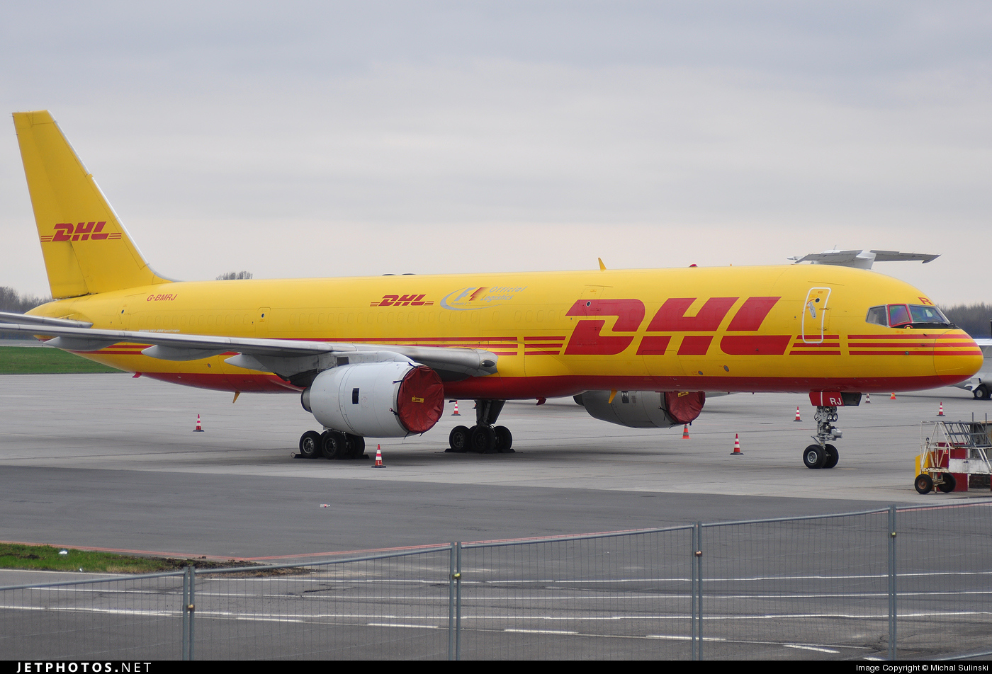 G-BMRJ - Boeing 757-236(SF) - DHL Air