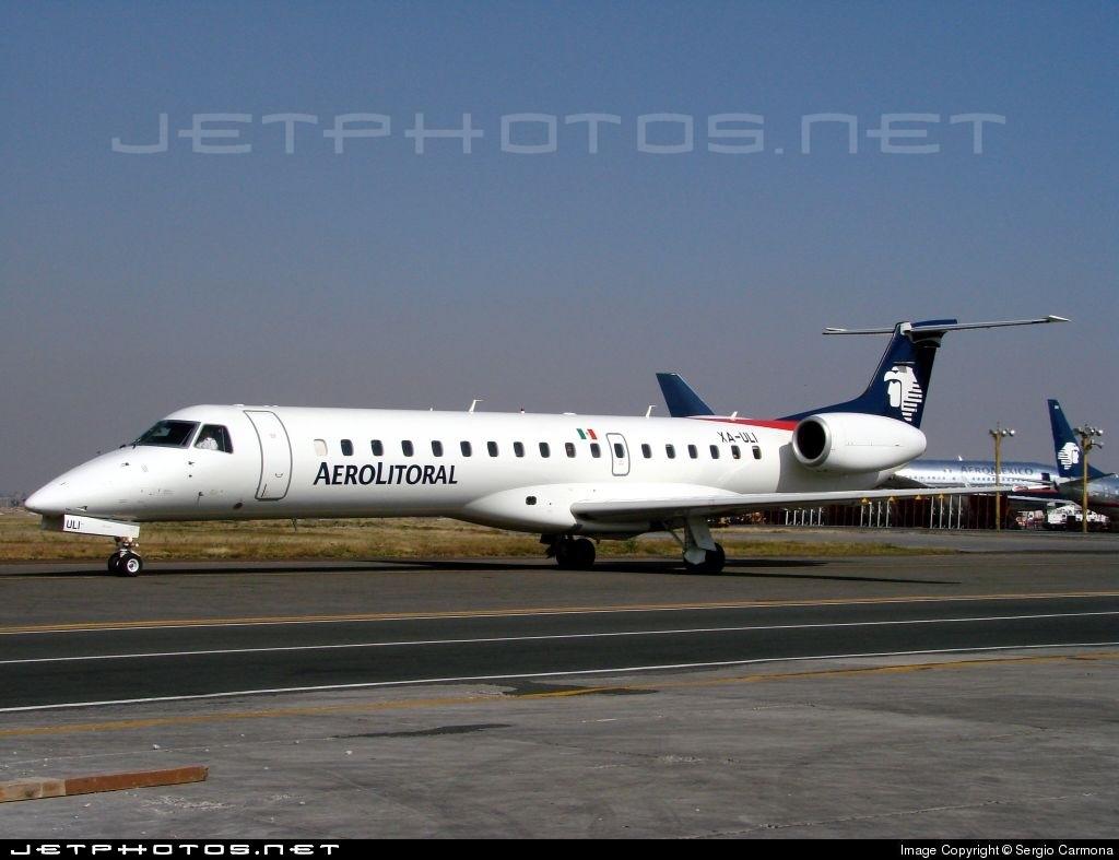 XA-ULI - Embraer ERJ-145LU - Aerolitoral