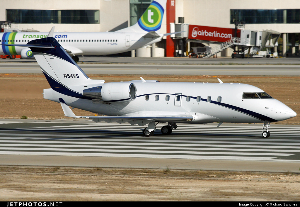 N54VS - Bombardier CL-600-2B16 Challenger 601-3R - Private