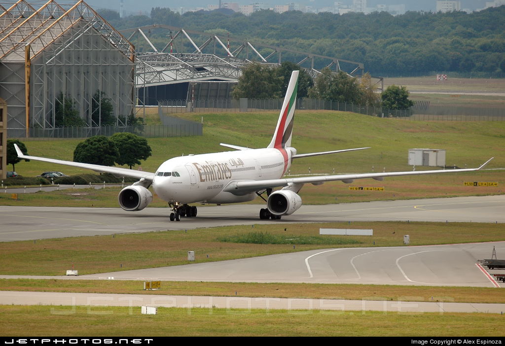 A6-EAE - Airbus A330-243 - Emirates