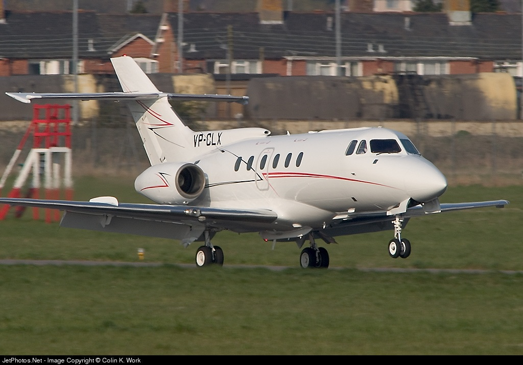 VP-CLX - Hawker Siddeley HS-125 - Private