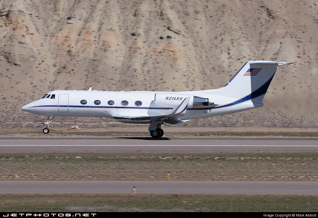 N216RR - Gulfstream G-II(SP) - Private