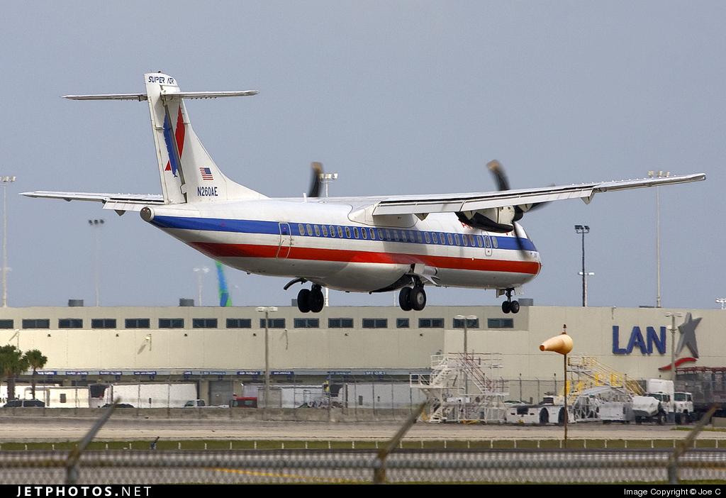 N260AE - ATR 72-212 - American Eagle (Executive Airlines)