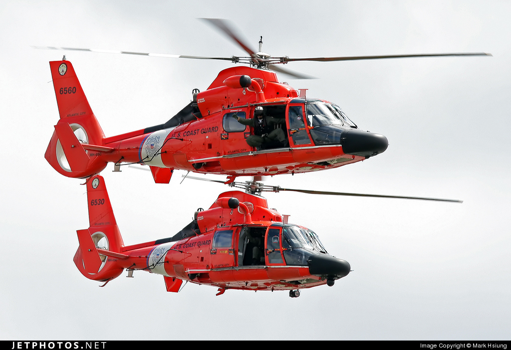 6560 - Aérospatiale HH-65C Dolphin - United States - US Coast Guard (USCG)