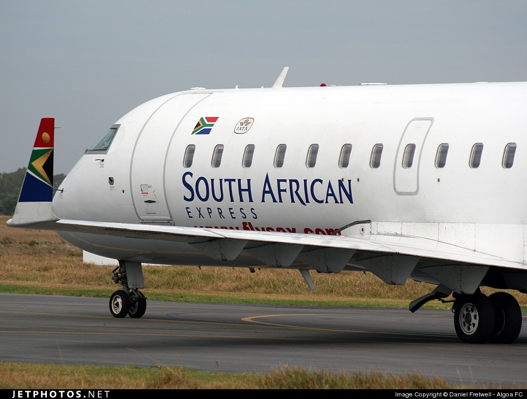 ZS-NML - Bombardier CRJ-200ER - South African Express