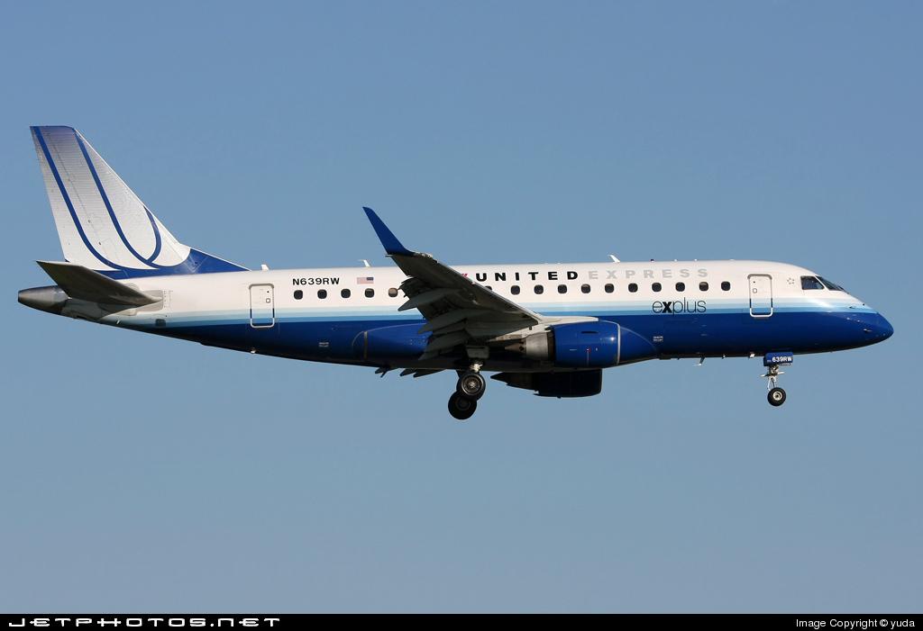 N639RW - Embraer 170-100SE - United Express (Shuttle America)