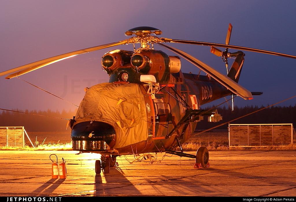 0614 - PZL-Swidnik W3 Sokol - Poland - Army