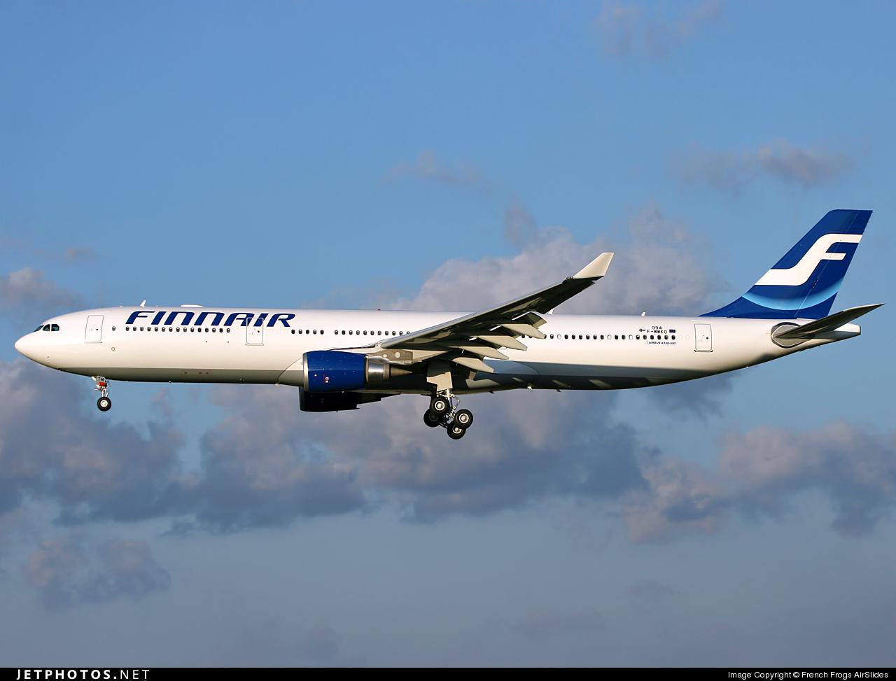 F-WWKO - Airbus A330-303 - Finnair