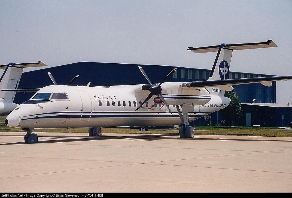 N194TY - Bombardier Dash 8-301 - CNAC Zhejiang Airlines