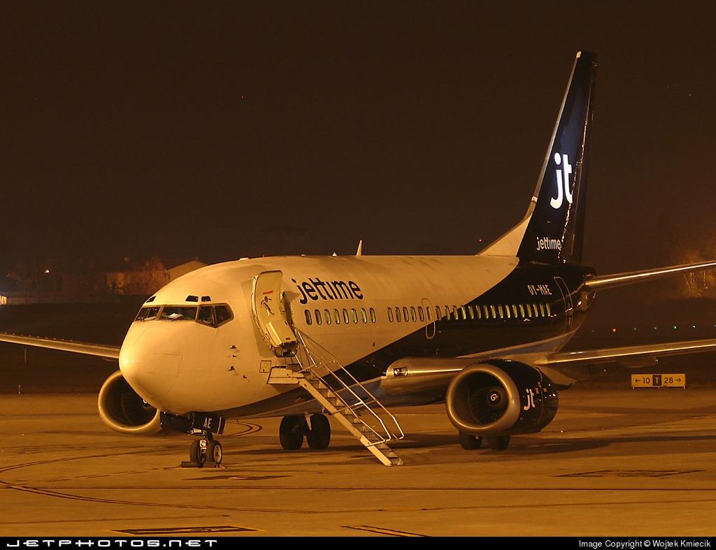 OY-MAE - Boeing 737-5L9 - Jettime