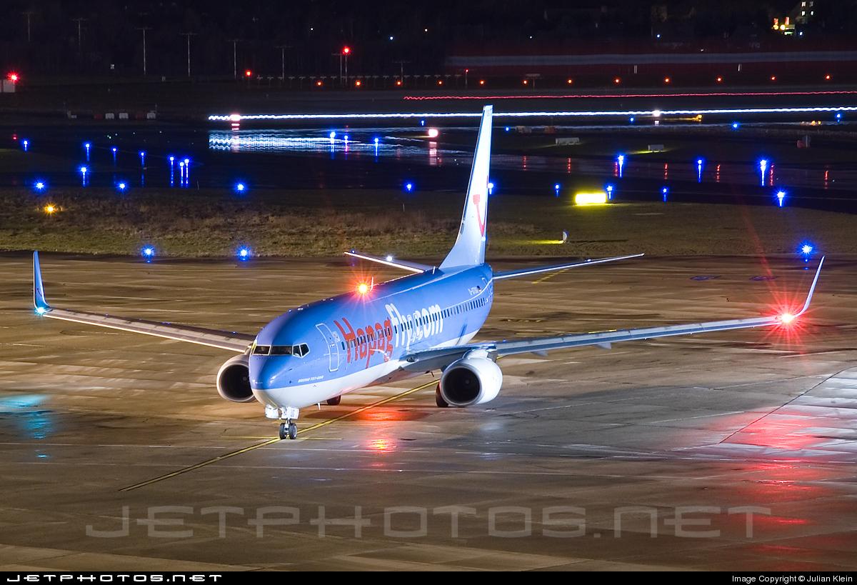 D-ATUG - Boeing 737-8K5 - Hapagfly
