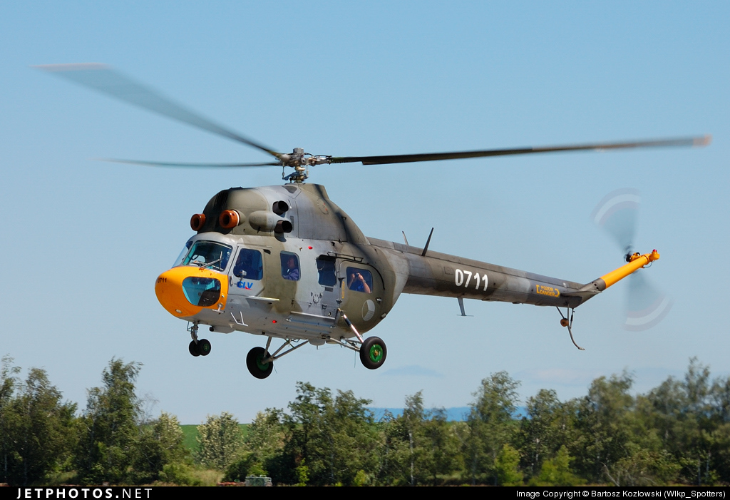 0711 - PZL-Swidnik Mi-2 Hoplite - Czech Republic - Air Force