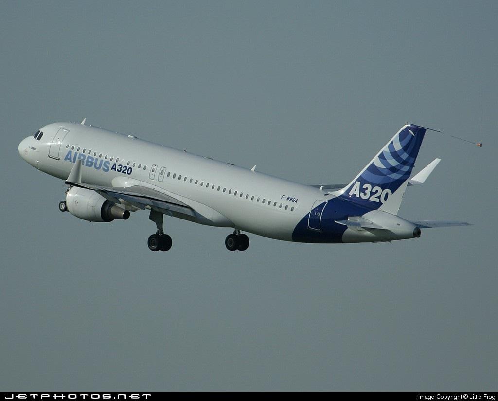 F-WWBA - Airbus A320-111 - Airbus Industrie
