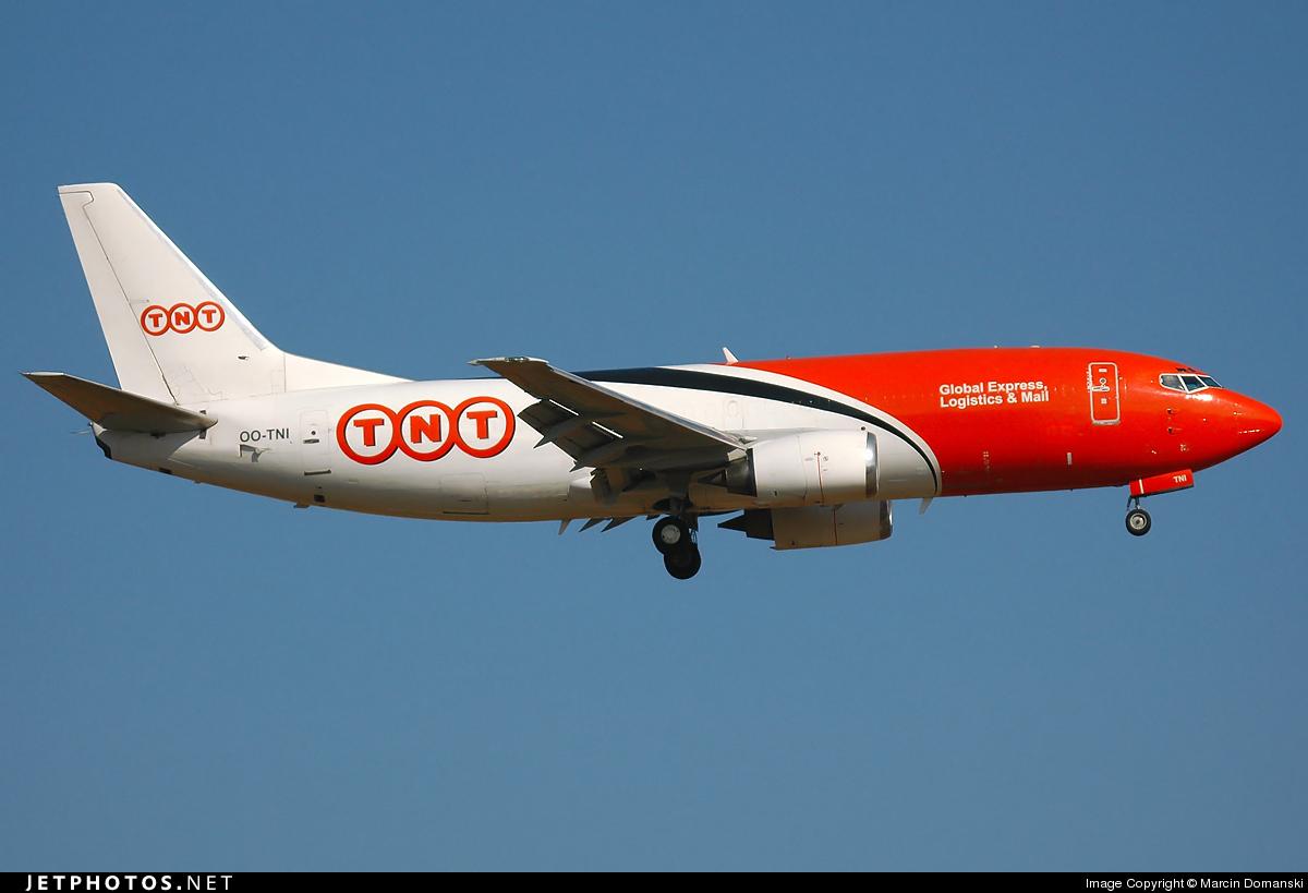 OO-TNI - Boeing 737-301(SF) - TNT Airways