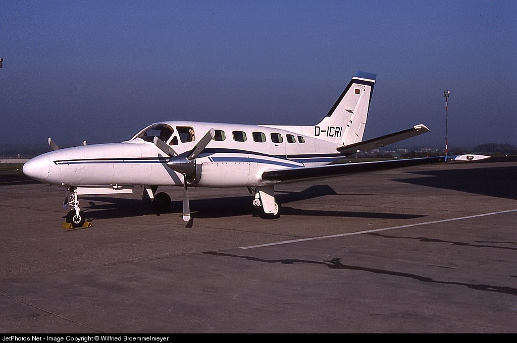 D-ICRI - Cessna 441 Conquest II - Regionalflug (RFG)
