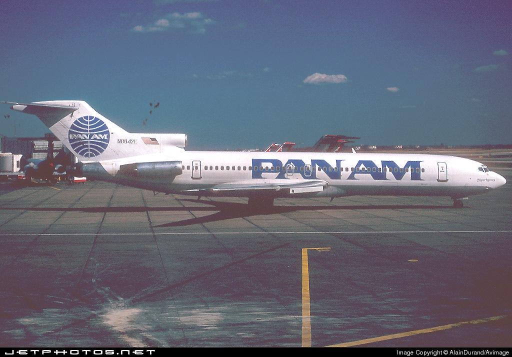 N8842E - Boeing 727-225 - Pan Am
