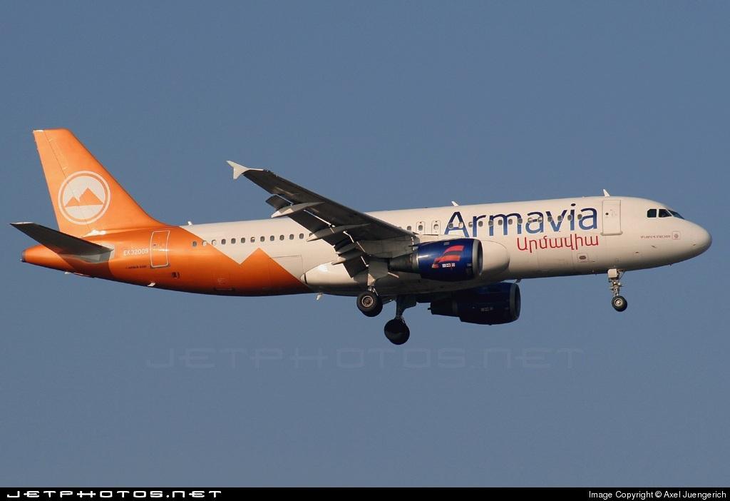 EK-32009 - Airbus A320-214 - Armavia