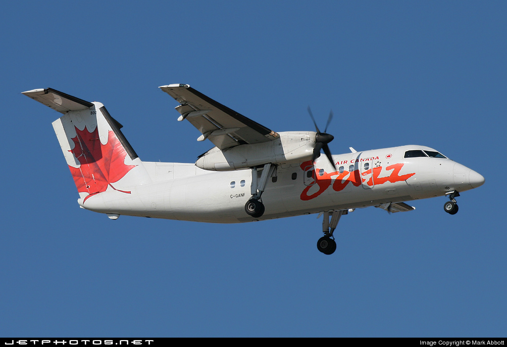 C-GANF - Bombardier Dash 8-102 - Air Canada Jazz