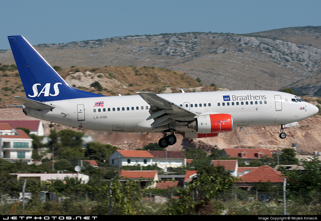 LN-RNN - Boeing 737-783 - SAS Braathens