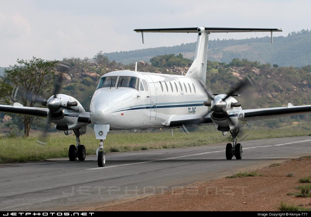 ZS-PMF - Beech 1900C - Baranza Air Services