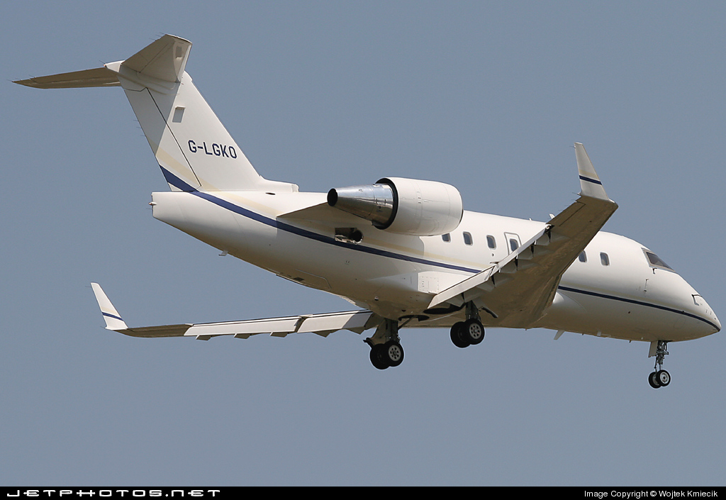 G-LGKO - Bombardier CL-600-2B16 Challenger 604 - TAG Aviation