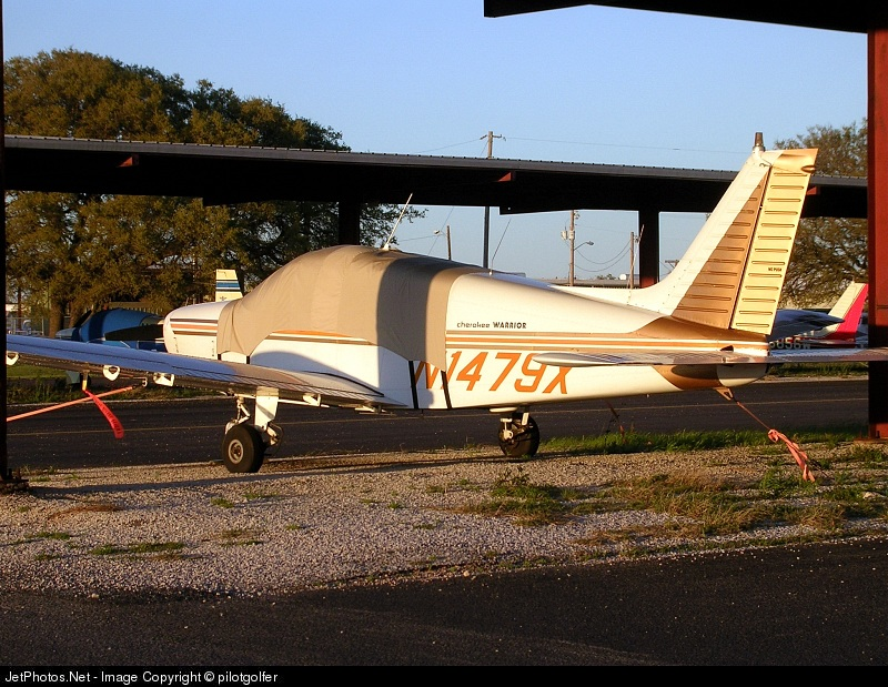 N1479X - Piper PA-28-151 Cherokee Warrior - Private