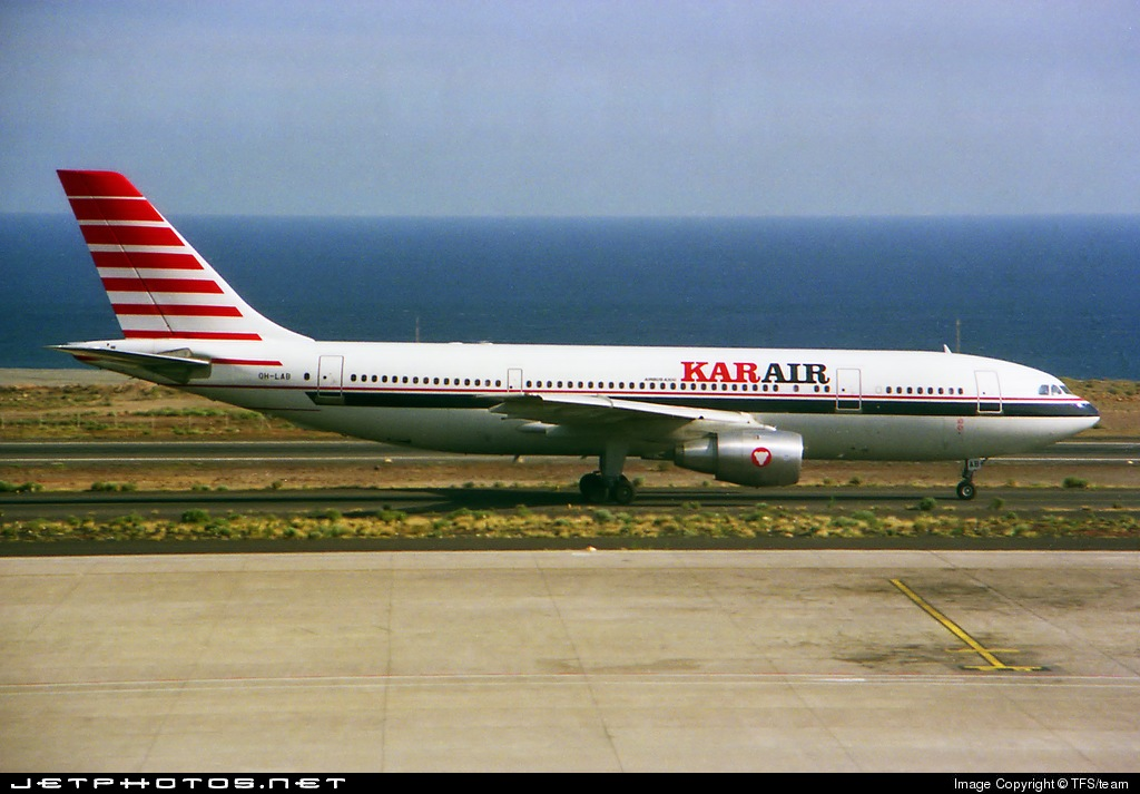 OH-LAB - Airbus A300B4-203 - Kar-Air