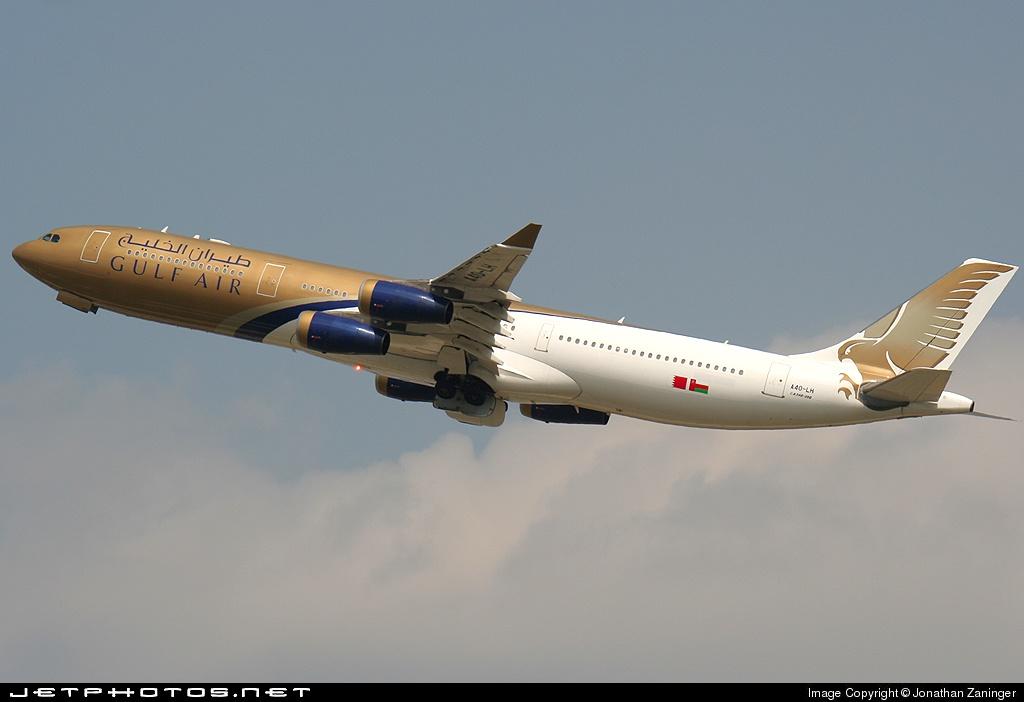 A4O-LH - Airbus A340-313X - Gulf Air