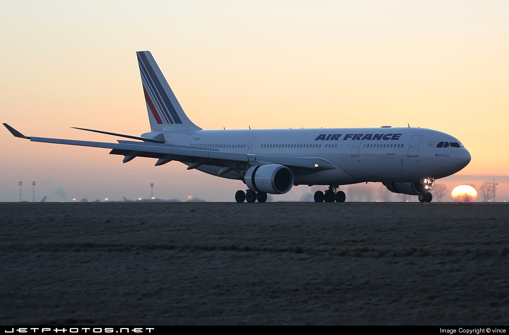 F-GZCP - Airbus A330-203 - Air France
