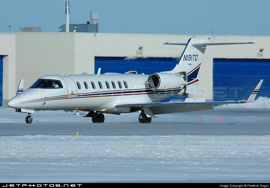 N191TD - Bombardier Learjet 45 - Private