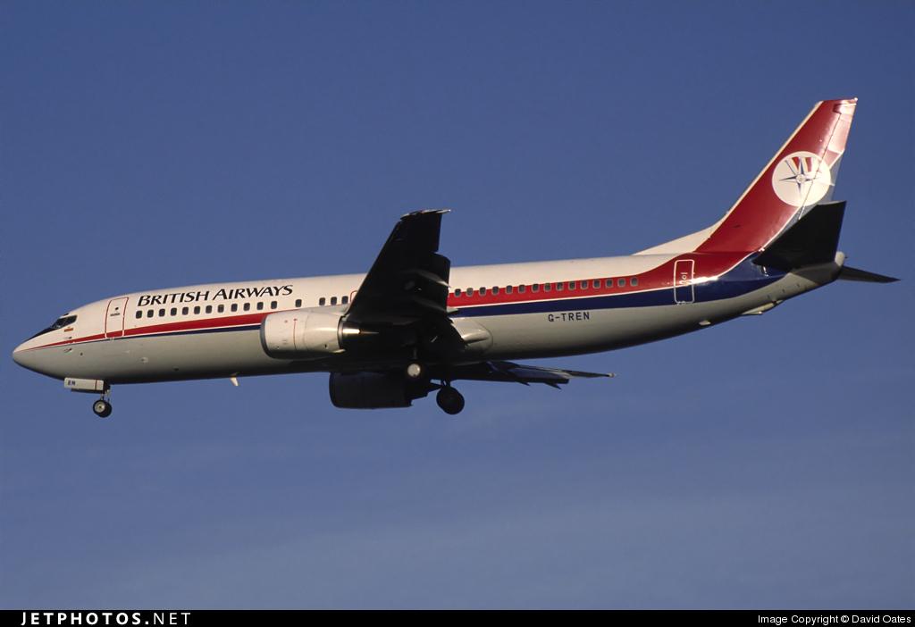 G-TREN - Boeing 737-4S3 - British Airways