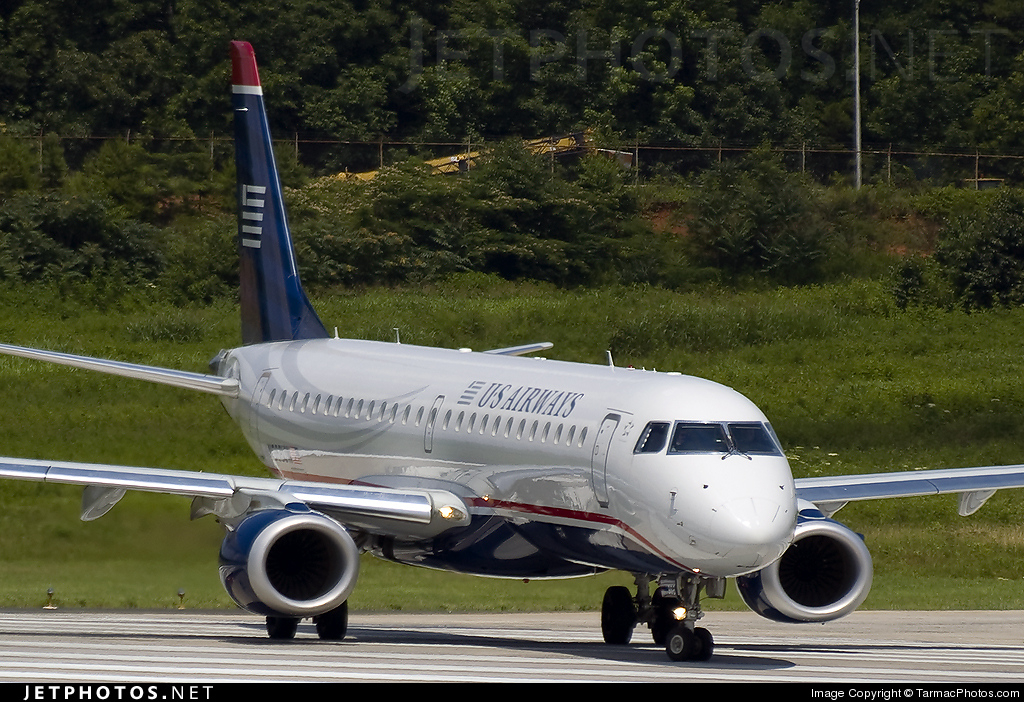 N968UW - Embraer 190-100IGW - US Airways