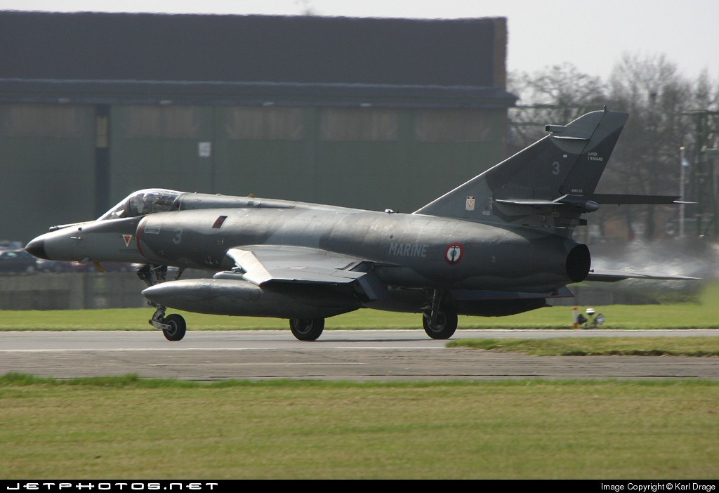 3 - Dassault Super Étendard - France - Air Force
