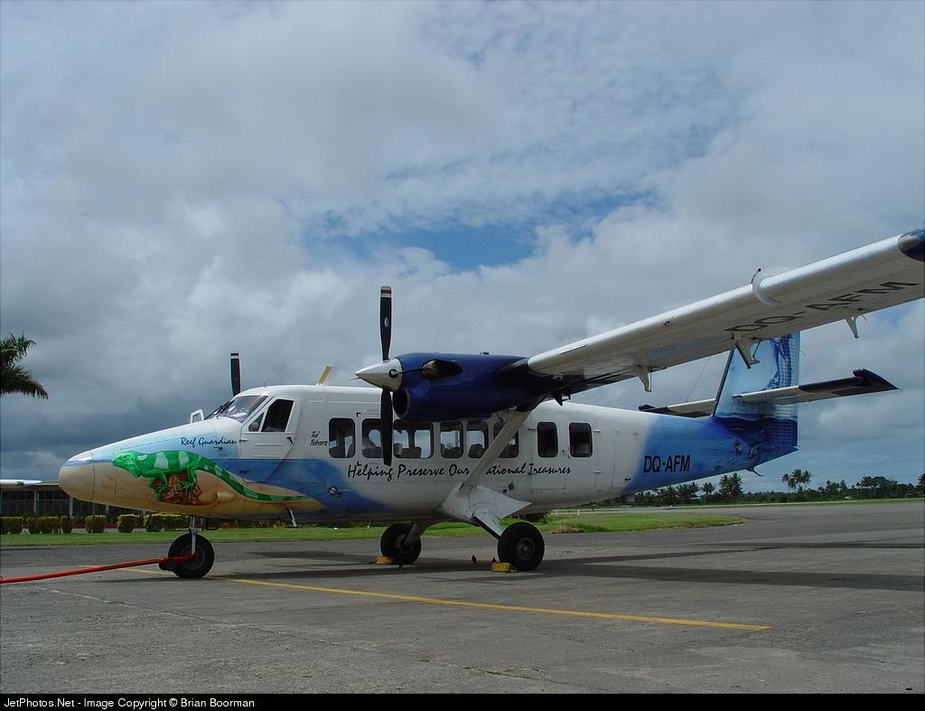 DQ-AFM - De Havilland Canada DHC-6-300 Twin Otter - Air Fiji