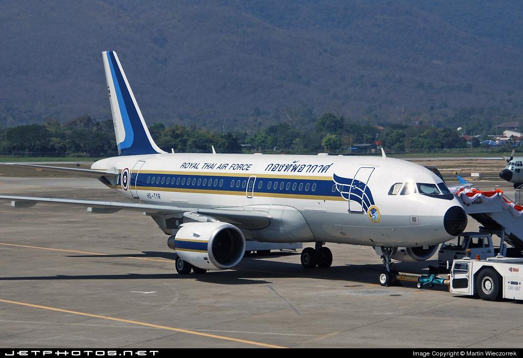 HS-TYR - Airbus A319-115X(CJ) - Thailand - Royal Thai Air Force