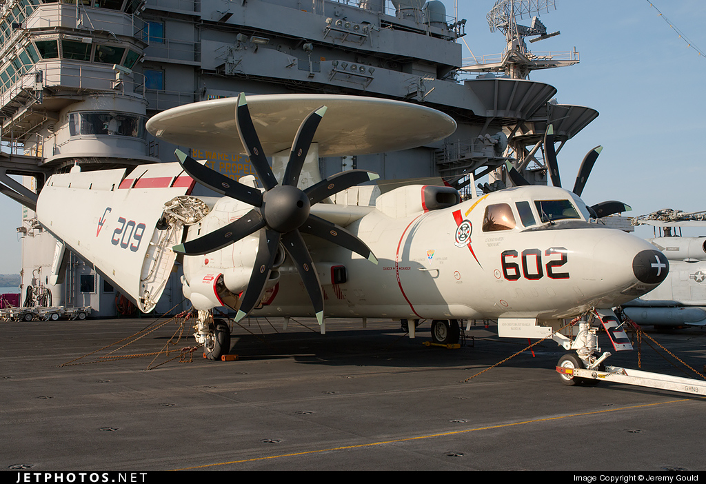 165302 - Grumman E-2C+ Hawkeye 2000 - United States - US Navy (USN)