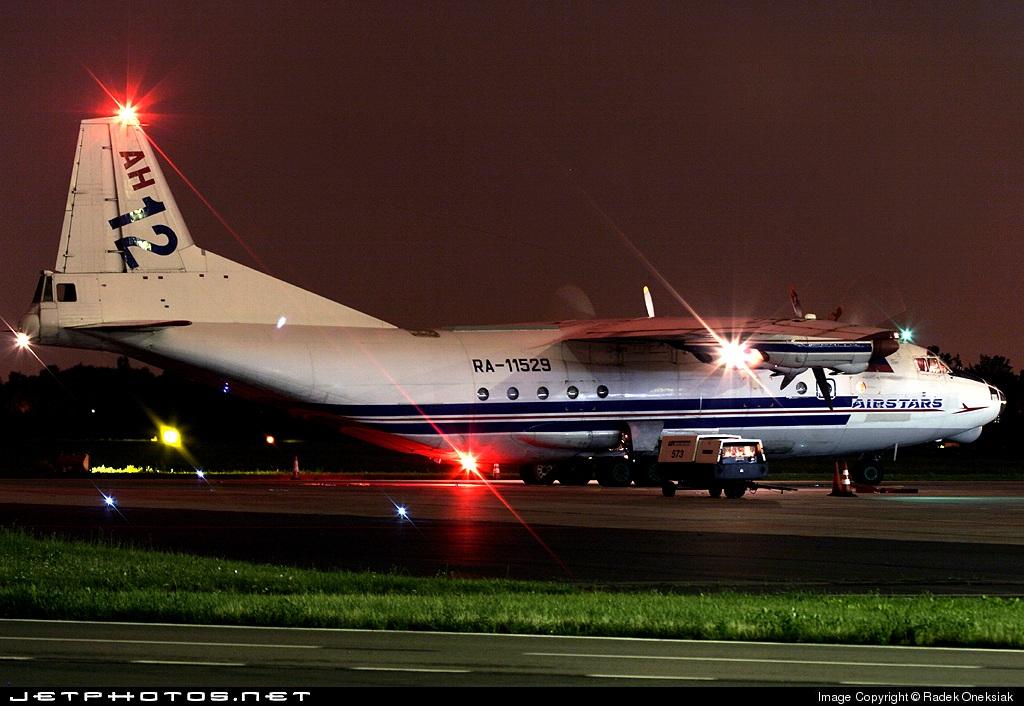 RA-11529 - Antonov An-12BP - Airstars