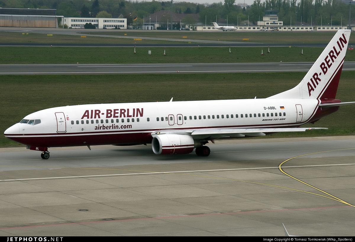 D-ABBL - Boeing 737-85F - Air Berlin