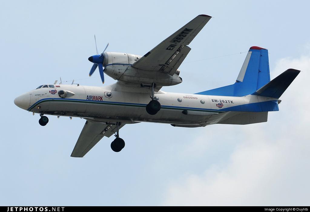 EW-262TK - Antonov An-32A - AirMark