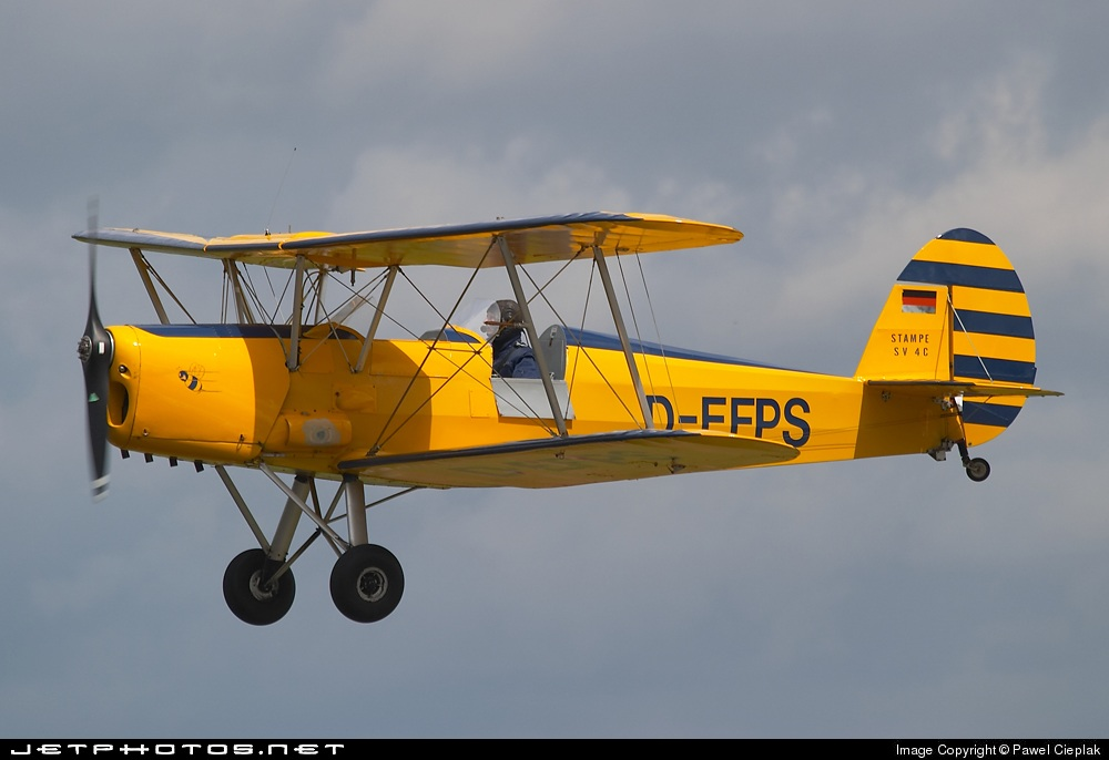 D-EFPS - Stampe and Vertongen SV-4C - Private