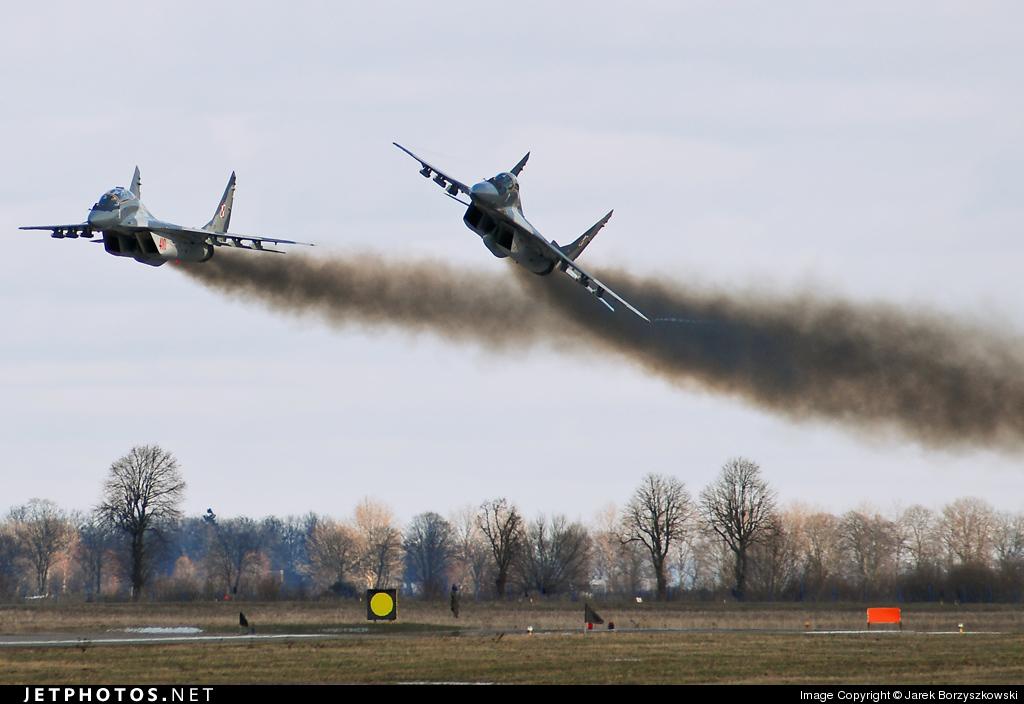 77 - Mikoyan-Gurevich MiG-29A Fulcrum - Poland - Air Force