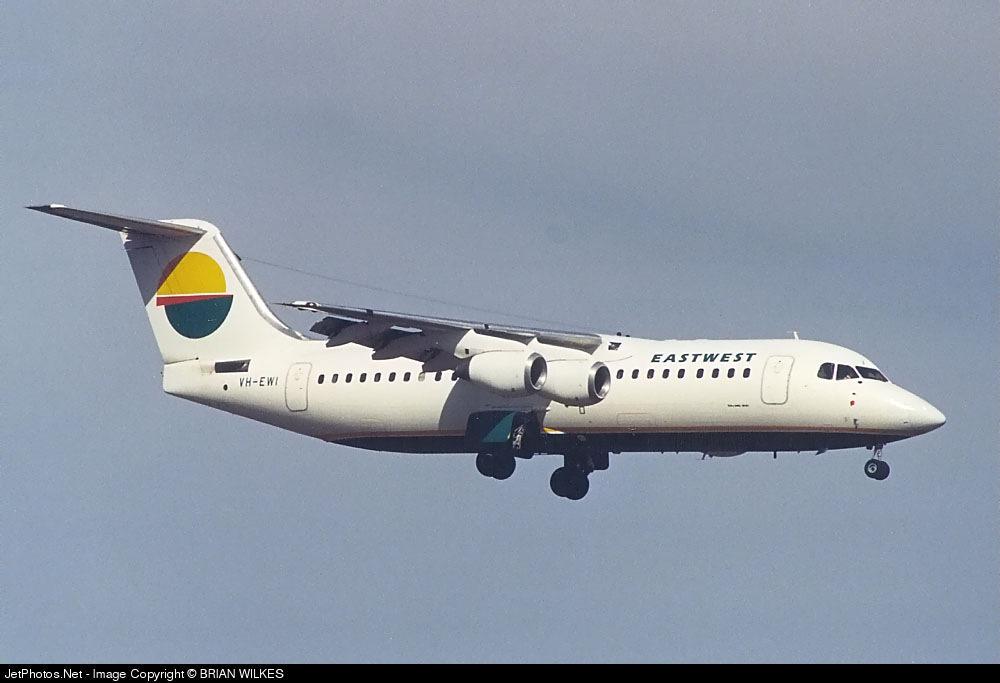 VH-EWI - British Aerospace BAe 146-300 - East-West Airlines