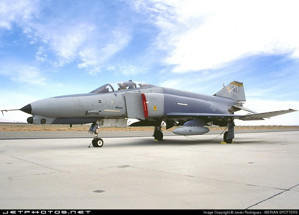 69-0253 - McDonnell Douglas F-4G Phantom II - United States - US Air Force (USAF)