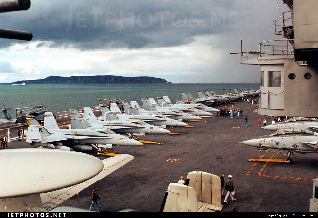 CV-67 - Aircraft Carrier - Ramp