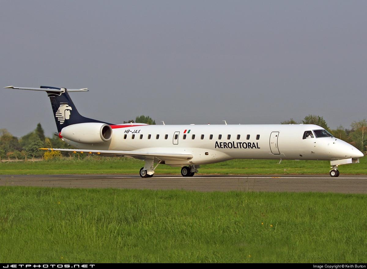 HB-JAX - Embraer ERJ-145LR - Aerolitoral