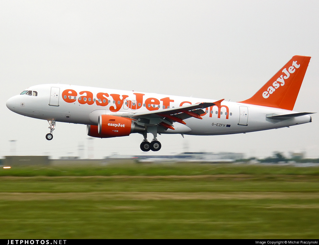 G-EZFV - Airbus A319-111 - easyJet